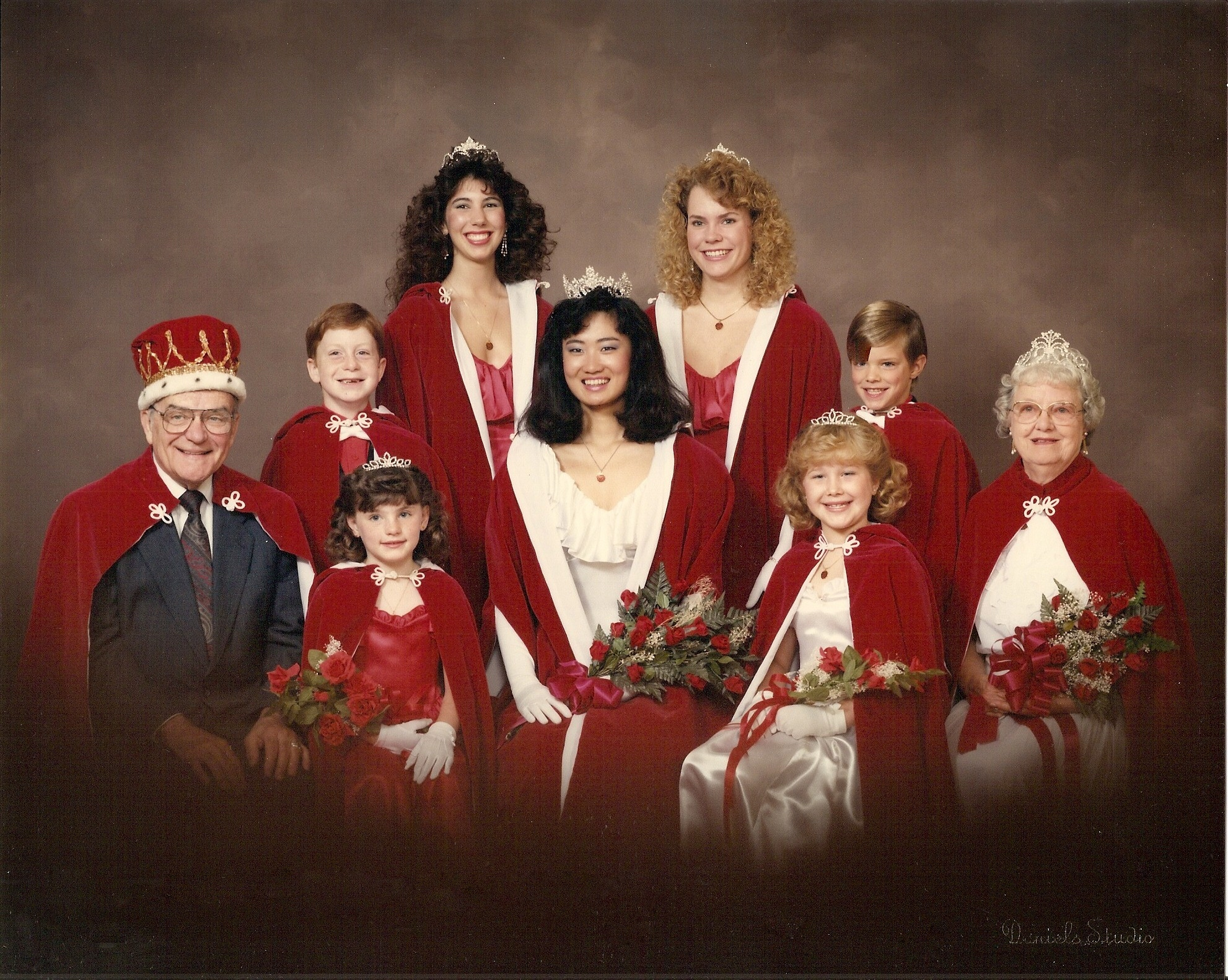 1988-1989 Royal Family photo