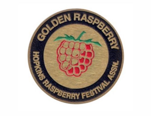 Golden Raspberry Found!