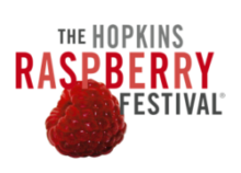 Hopkins Raspberry Festival! Logo